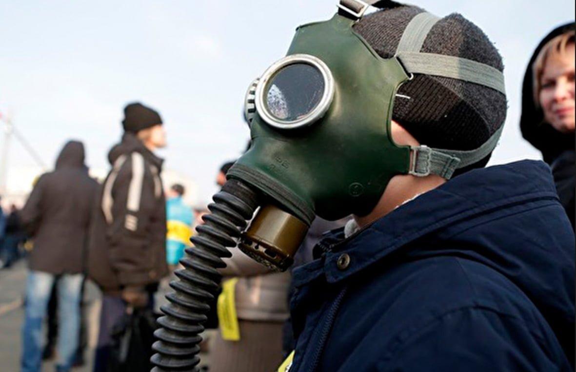 Засоби індивідуального захисту органів дихання на об'єктах у зоні можливих надзвичайних ситуацій техногенного характеру