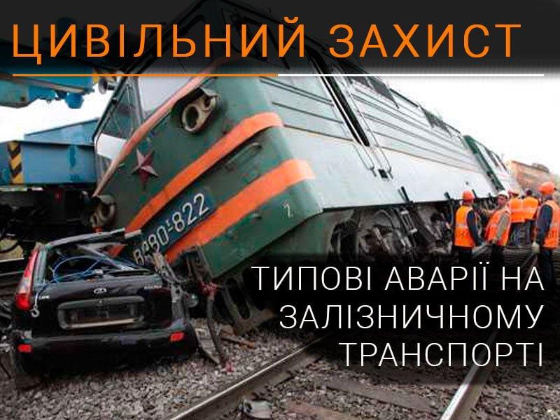 Типові аварії на залізниці