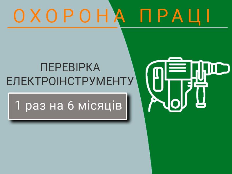 Охорона праці НПАОП 40.1-1.21-98 Випробування електроінструменту техноспектр-сервіс