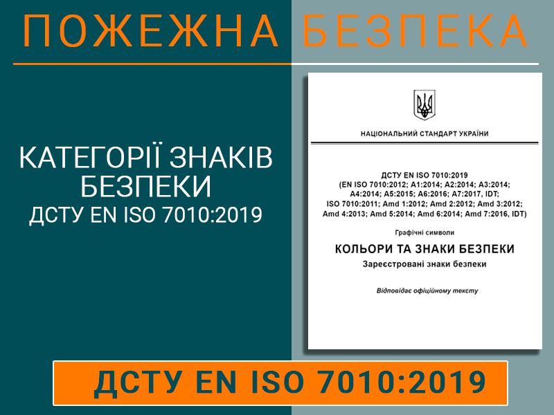 Категорії знаків безпеки ДСТУ ЕN ІSО 7010:2019 Техноспектр-Сервіс